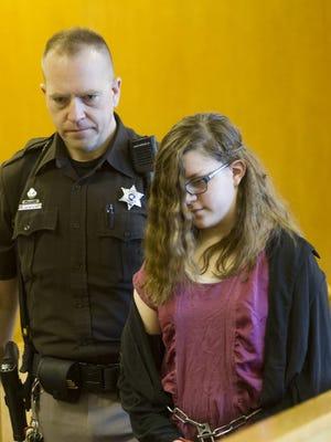 Anissa Weier, in court