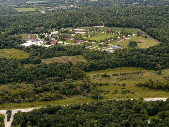 The former Ethan Allen School for Boys in Delafield