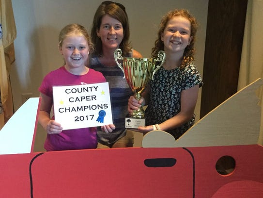 Somerset County Caper winners the Ferocious 4, the