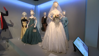 "Works of nine of this year's Emmy-nominated costume designers - including the teams behind ""Game of Thrones,"" ""Westworld"" and ""The Crown"" - go on show at the Fashion Institute of Design and Merchandising in Los Angeles. (Aug. 20)"