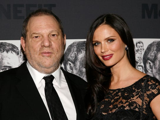 "Wife Georgina Chapman said in a statement following continued accusations against Harvey Weinstein:  ""I have chosen to leave my husband."""
