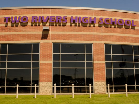 Two Rivers High Schoo Exterior