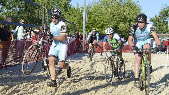 The Asheville Cyclocross Race opens the Mountain Sports Festival last year at Carrier Park at the Mountain Sports Festival. The three-day event starts May 22.