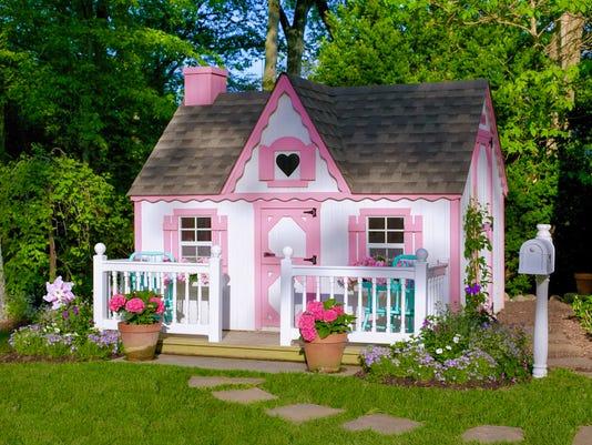 The Perfect Backyard Playhouse