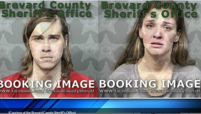 David Williams Chappele Jr., 29, and Jessica Marie Strickland, 27, of unincorporated Cocoa, were arrested.