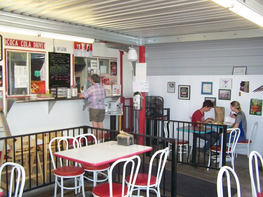 Wild Dog's is an old-fashioned hot dog stand located