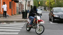 Dirt bike street riders claim the hobby helps them cope with inner-city issues, but many complain about the dangers and nuisances riders cause.