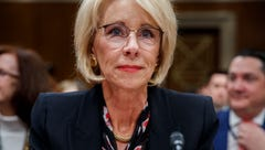 Secretary of Education Betsy DeVos testifies before