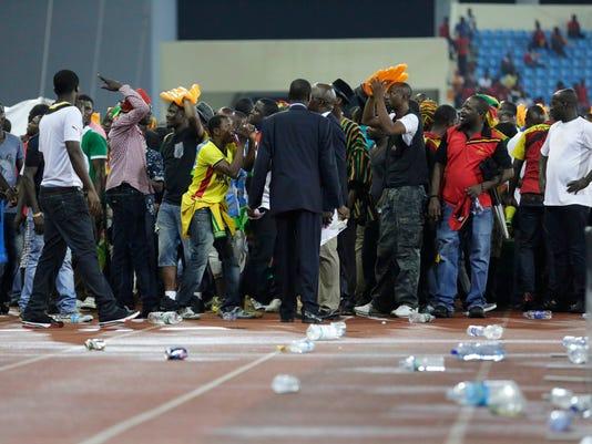 Ghana's soccer supporters