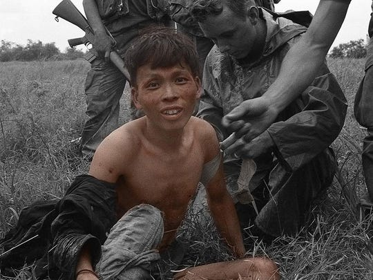 """This photo from the Vietnam War by Marc Waszkiewicz is one of thousands that are the basis of """"Vietnam: An Inner View,"""" a multimedia experience that will be presented at 7 p.m. Friday, Aug. 14, at Book Bin East."""