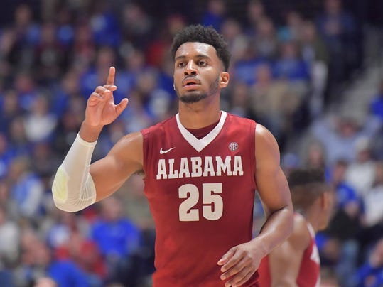 NCAA Basketball: SEC Tournament-Kentucky vs Alabama