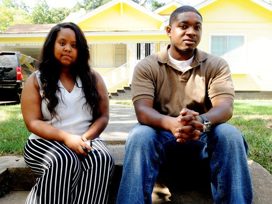 Kimberly Payne and Kevon Mitchell work for the Elle Foundation Street Outreach Program that aims to help homeless kids.