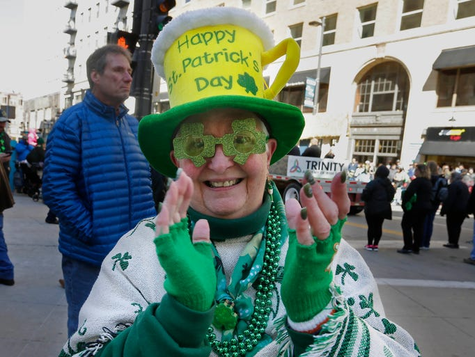 Barb Farrell has been coming to the parade for many