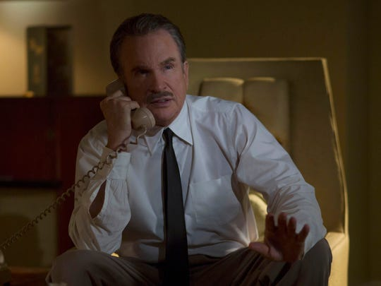 Warren Beatty writes, directs and stars as Howard Hughes