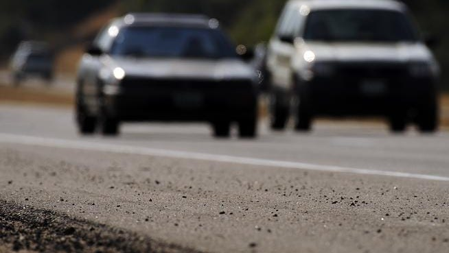 """A state audit criticized the Colorado Department of Transportation for lax oversight of the $1.4 billion in fees collected to help fix the state's roads and bridges. CDOT15--This year is the first in 10 years that more than 50 percent of the road system are ranked in """"poor"""" condition.  CDOT ranked Colorado Highway 58 near Golden as one of the stretches of road in the """"poor"""" ranking."""