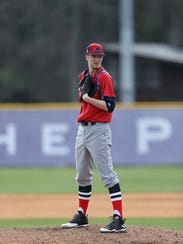 Jackson's James Sofield pitches for NJIT