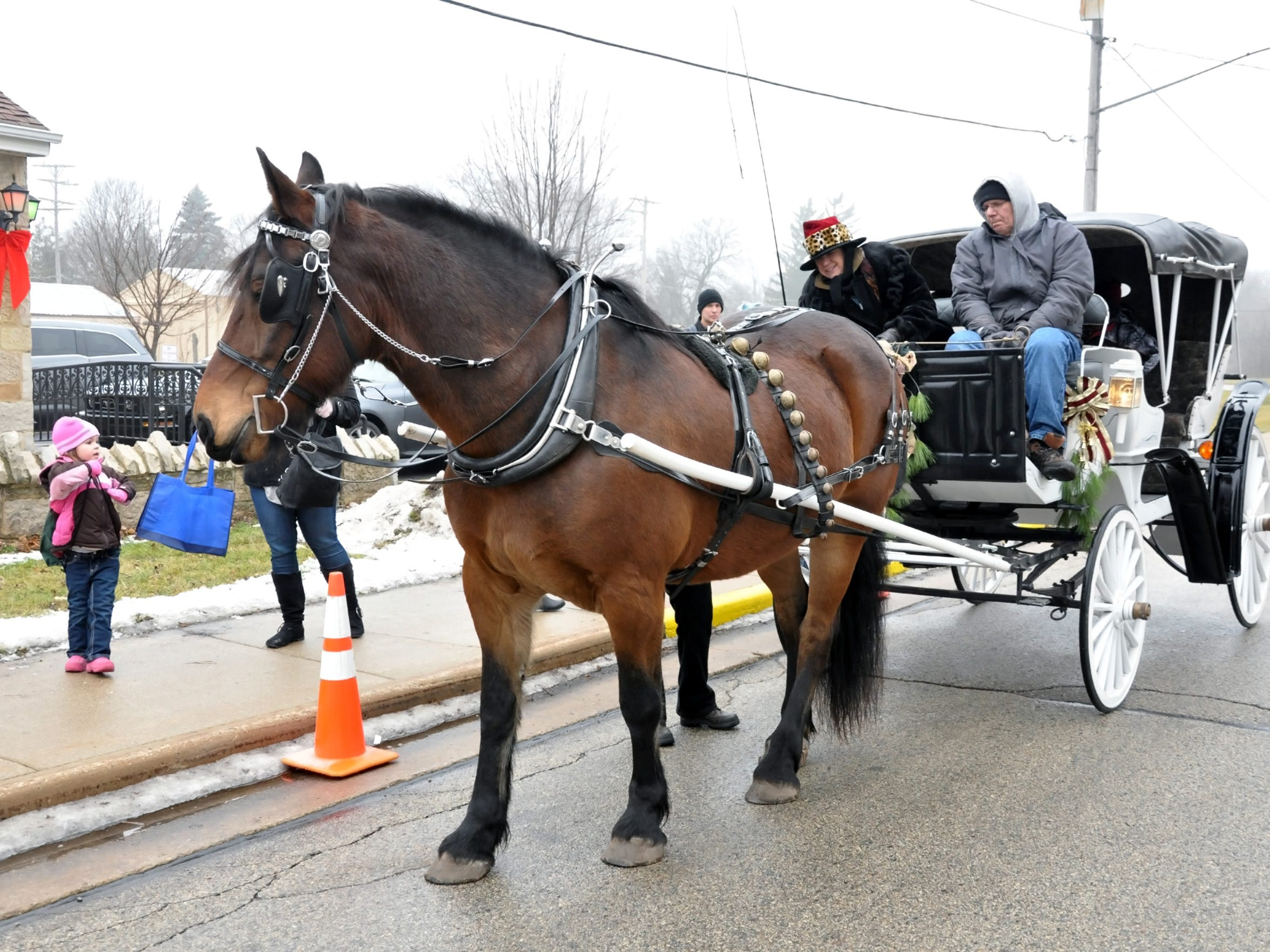 Horse-drawn carriages, an appearance by Santa, caroling by local churches and donations being collected for the Kettle Moraine Food Pantry are all among the holiday festivities at Christmas in Wales coming up Saturday, Dec. 9.