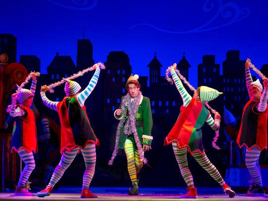 """Elf the Musical"" opens Wednesday at the Fox for a run that continues through Christmas Eve."