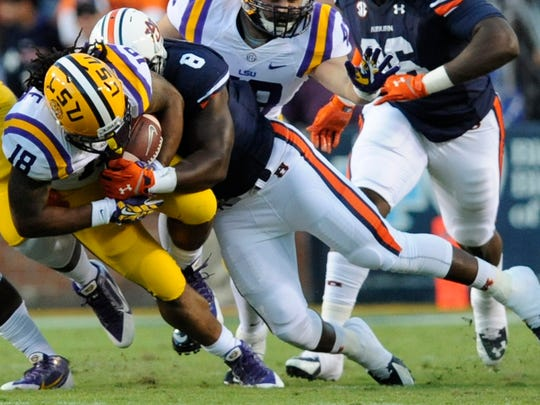 Auburn linebacker Cassanova McKinzy could be in for a big game against South Carolina.