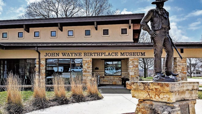 The John Wayne Birthplace & Museum houses the largest collection of artifacts related to Duke's life.