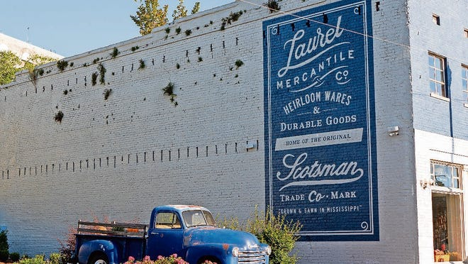 """Fans of the HGTV show """"Home Town"""" shop at the Laurel Mercantile Co. in downtown Laurel, Mississippi, which Ben and Erin Napier own with a group of close friends."""