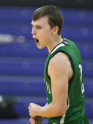Wyatt Richtmyre and the Almond-Bancroft boys basketball team enter the WIAA postseason on a 13-game winning streak.