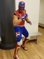 Better not get in the ring with this big fella in Perth Amboy on Cinco de Mayo.