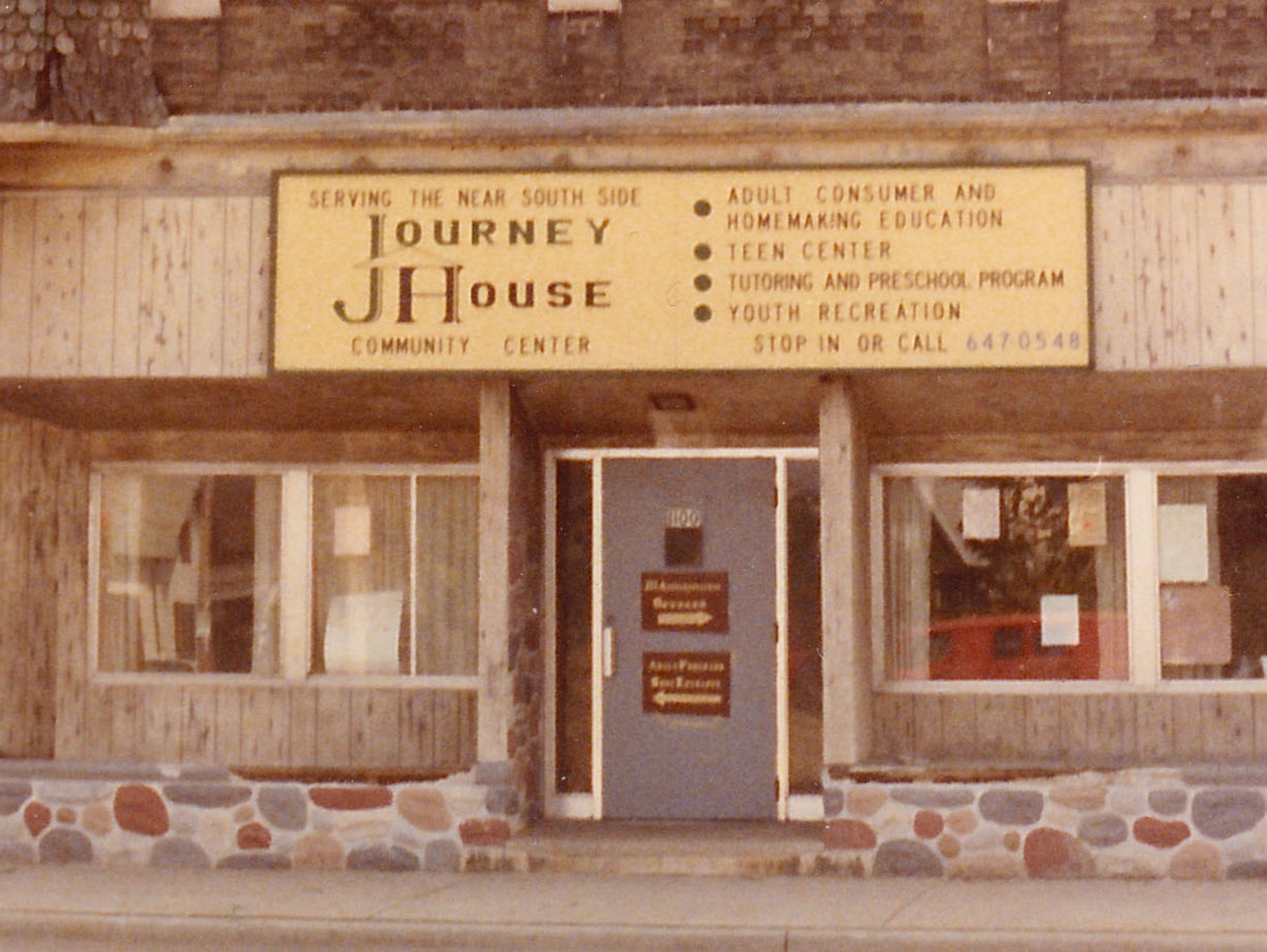 Journey House in 1971, only a couple years after its