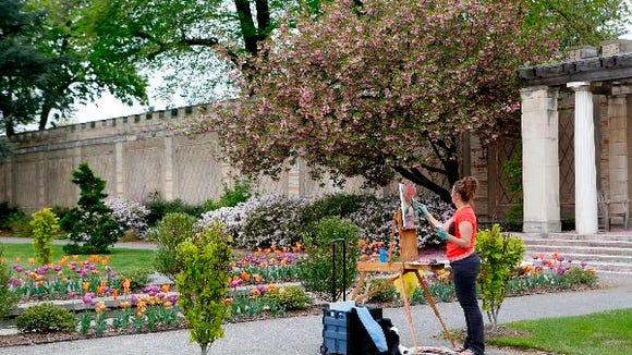 Spring at Untermyer Gardens