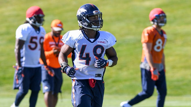Former Bishop Kearney and Rutgers University standout Quentin Gause was signed by the Denver Broncos on Oct. 17 and has been on their practice squad but has not appeared in a game yet. He's a rookie linebacker who also spent time since May with the Eagles and Patriots.