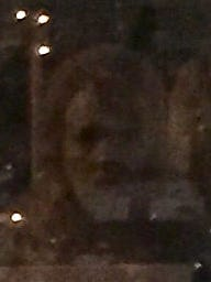 This photo of a ghost was taken in downtown Howell.
