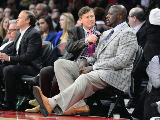 Image result for craig sager and shaq