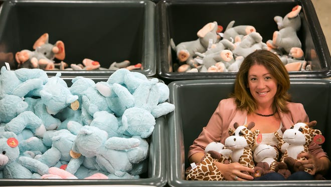 Purusha Rivera, president of Bear-based My Baby's Heartbeat Bear, which creates stuffed animal keepsakes around a baby's heartbeat.