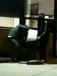 Suspects police are seeking in the theft of mail from