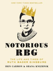 """The cover of """"Notorious RBG: The Life and Times of"""
