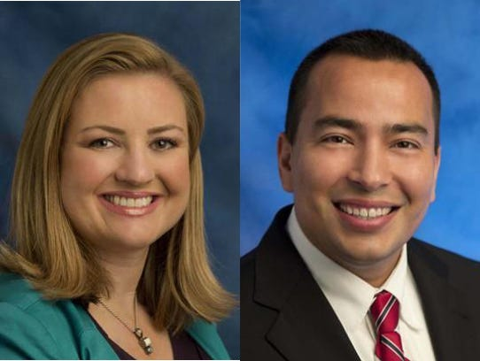 Councilwoman Kate Gallego and Councilman Daniel Valenzuela.