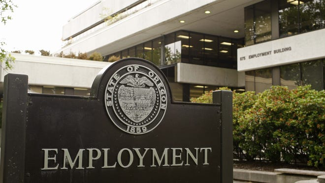 Oregon's unemployment rate has topped 4 percent for the first time in months.