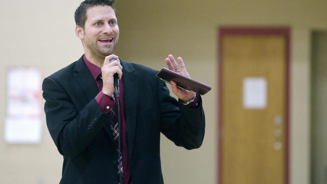 Brandon Valley School District Superintendent Jarod Larson is planning ahead to deal with the district's growth.