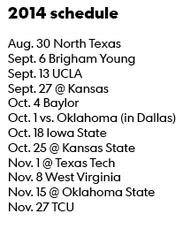 2014-7-29 texas schedule