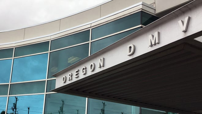 """This photo shows the headquarters of Oregon's Driver and Motor Vehicles Division on Thursday, June 15, 2017, in Salem, Ore. In a move hailed by LGBT rights groups, Oregon became the first state in the U. on Thursday to allow residents to mark their gender as """"not specified"""" on applications for driver's licenses, learner's permits and identity cards."""
