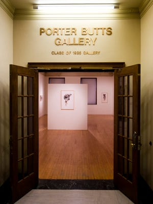 A gallery in UW-Madison's Memorial Union is named for alum Porter Butts.
