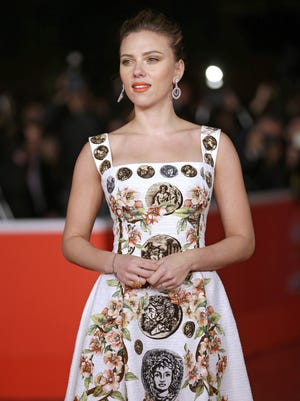 Actress Scarlett Johansson arrives for the screening of the film 'Her' at the 8th edition of the Rome International Film Festival. She took home the Best Actress prize.