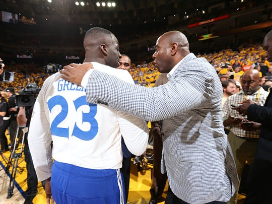 If you were to do an NBA draft of only MSU players all-time, Magic Johnson and Draymond Green are Nos. 1-2.