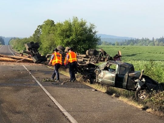 A fatal crash on Highway 99W left one dead Thursday morning.