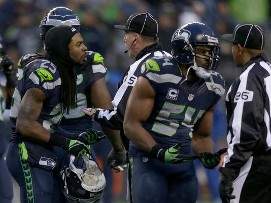 Richard Sherman, Bobby Wagner, Jimmy Buchanan