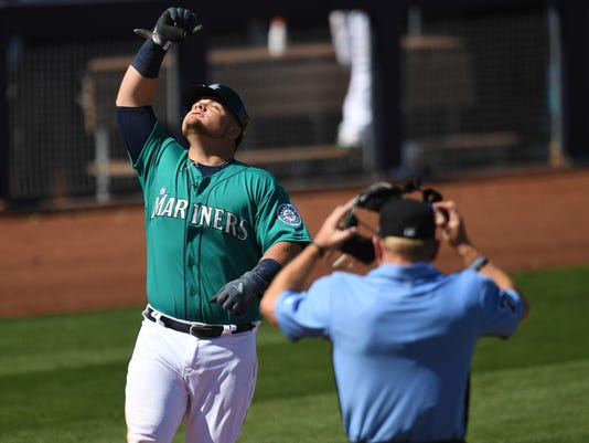 MLB: Spring Training-Los Angeles Angels at Seattle Mariners