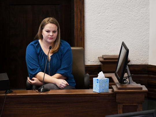 Childhood friend Shane Tagarian speaks to the court