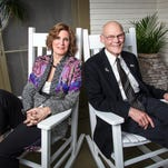 "Mary Matalin and James Carville, authors of the book ""Love & War."""