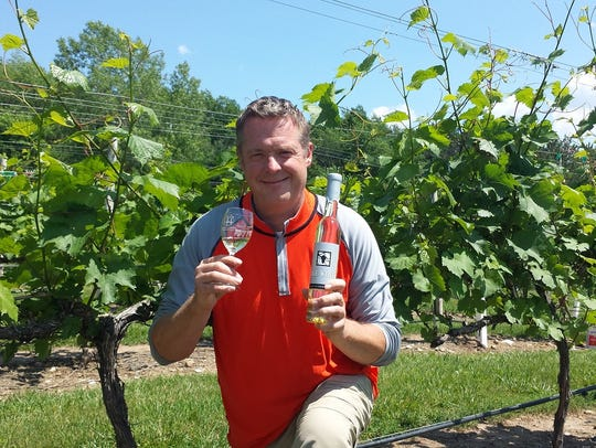Parallel 44 Vineyard & Winery owner Steve Johnson.
