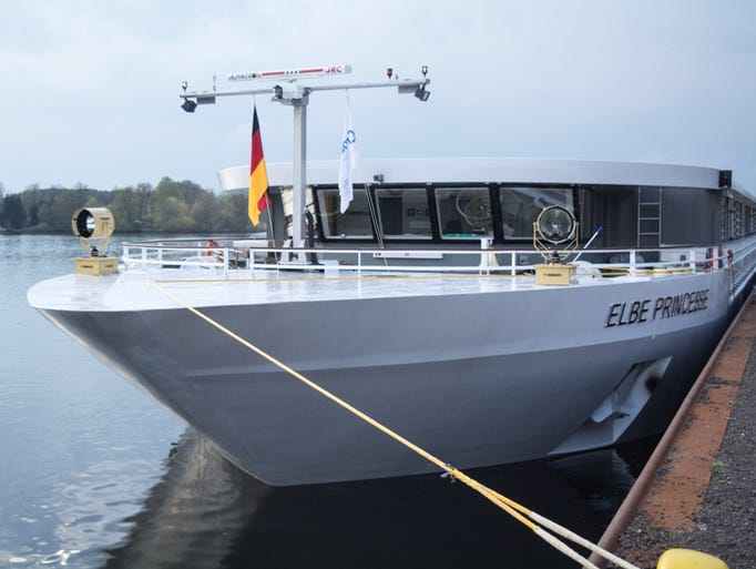 From the front, CroisiEurope's newest river cruise